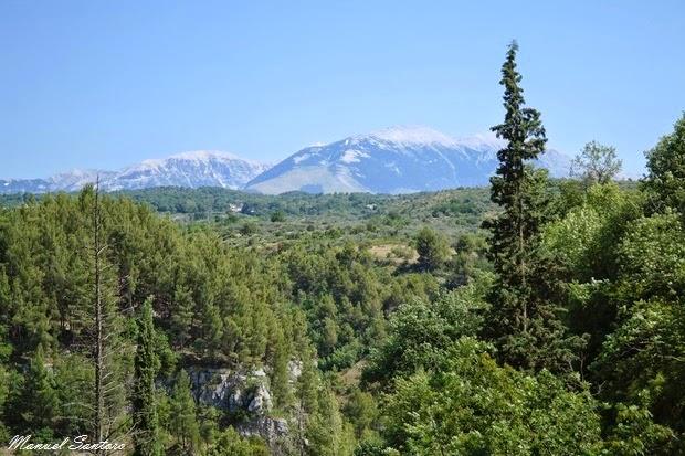 Valle dell'Orta, vista sulla Majella