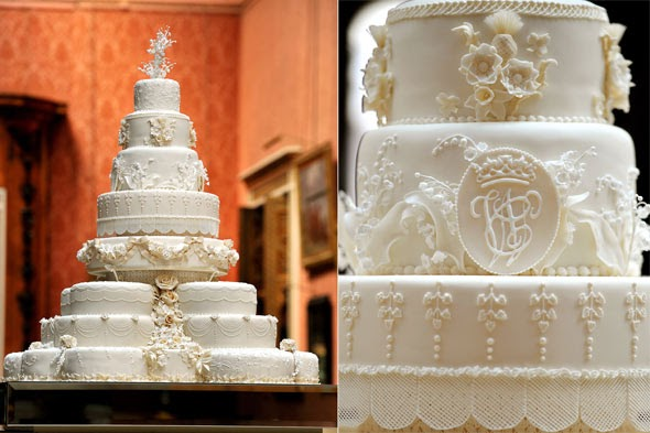 Royal Iced Tiered Wedding Cake Images
