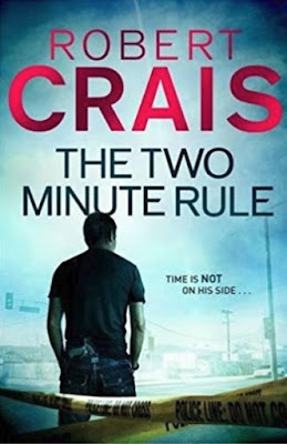 "The Two Minute Rule"" by Robert Crais (book cover)"