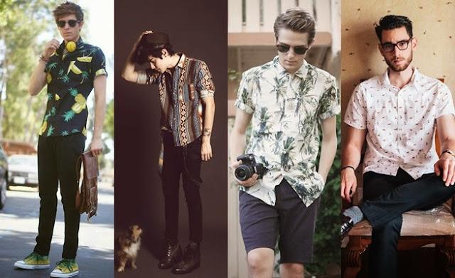 Camisa Masculina Estampada (1)