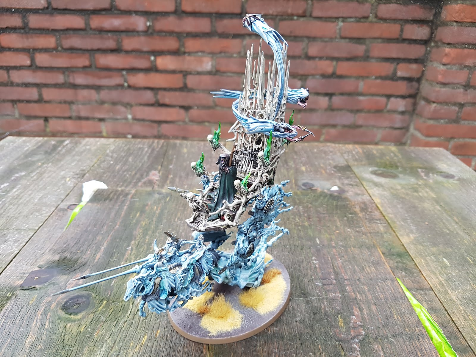 Another wargaming blog: A Mortis Engine manifests just in time for