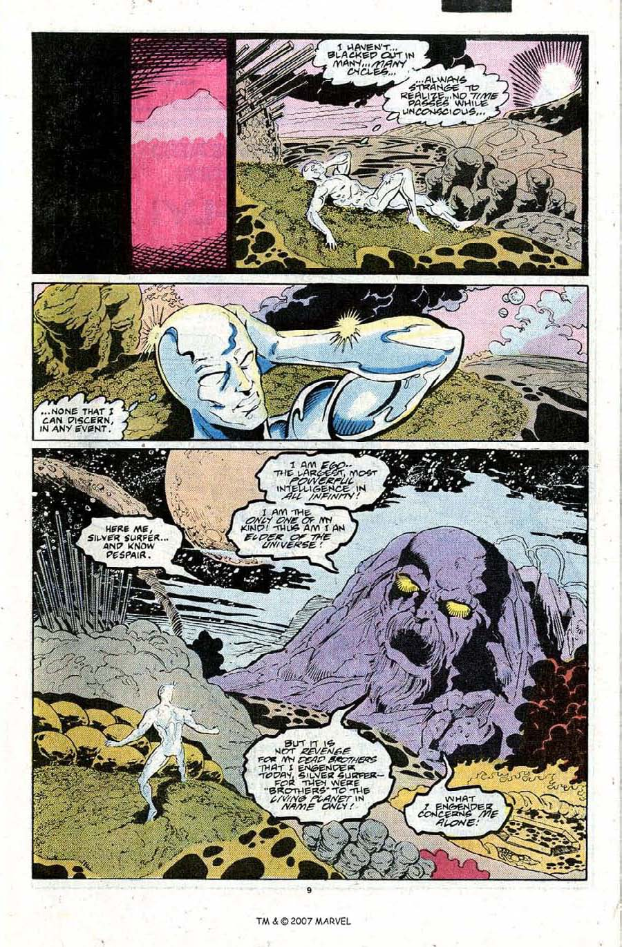 Read online Silver Surfer (1987) comic -  Issue #22 - 11