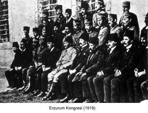 Atatürk Erzurum Kongresi 1919 Fotoğraf
