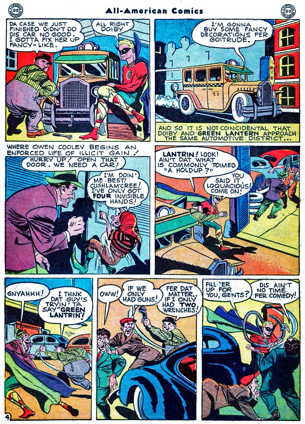 Read online All-American Comics (1939) comic -  Issue #70 - 6