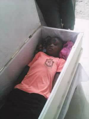 Photos: 9-Year-Old Girl Buried After Being Killed In An Accident