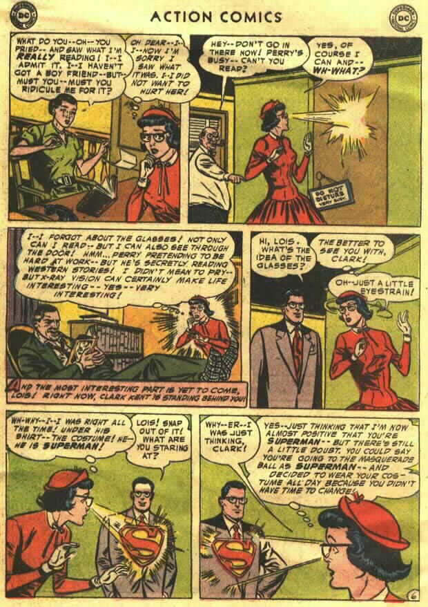 Read online Action Comics (1938) comic -  Issue #202 - 8