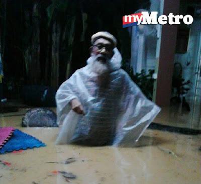 Banjir Di Lautan Samudera Bandar Puncak Alam