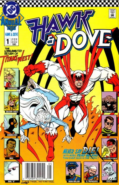 dc in the 80s 1989 hawk dove v3 ongoing series. Black Bedroom Furniture Sets. Home Design Ideas