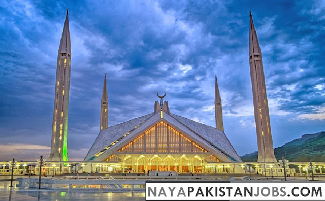 Faisal Mosque, Places to visit in Pakistan, best places in Pakistan to Visit