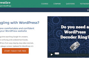 Free WordPress courses by WP Apprentice
