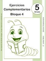 5to grado primaria - material educativo - bloque 4 - 5° grado - material didáctico