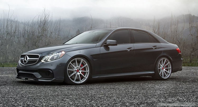 vorsteiner unveils sleek mercedes e63 amg aero package. Black Bedroom Furniture Sets. Home Design Ideas