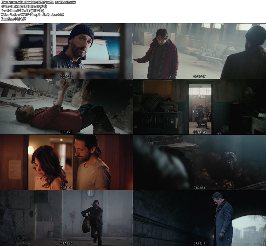 Bullet Head 2017 720p WEB-DL 750MB Screenshot