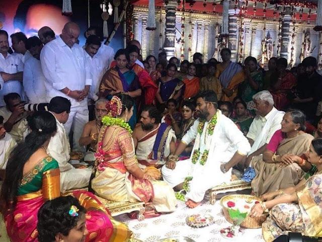 Minister-Paritala-Sunitha-Son-pelli-koduku