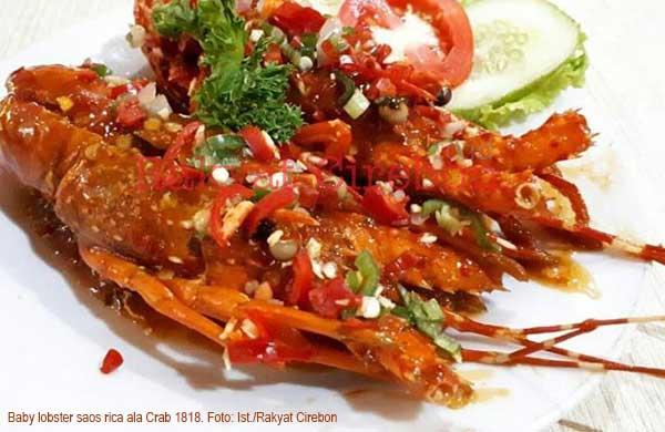 crab 1818 keluarkan menu baby lobster saus rica