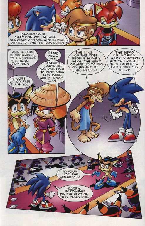 Read online Sonic Universe comic -  Issue #15 - 16