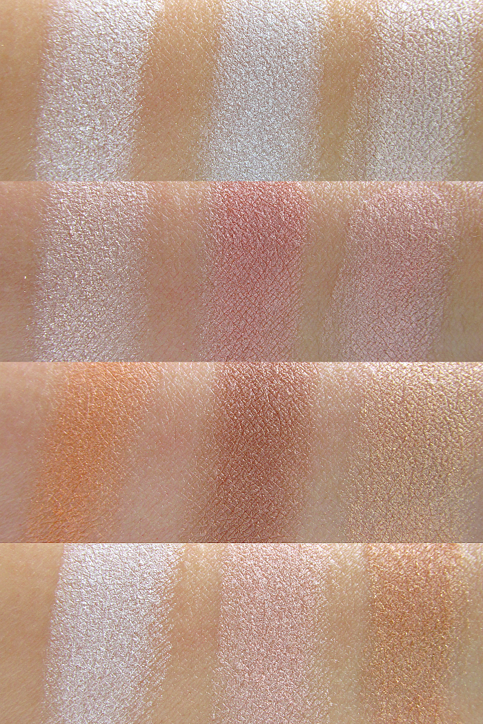 Review & Swatches: L´Oréal Paris Perfect Match Puder Highlighter - Icy Glow, Rosy Glow, Golden Glow