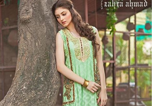 bf59286faf Zahra Ahmad Winter Collection 2016 | Essence Winter Formal Dresses |  She-Styles | Pakistani Designer Dresses - Fashion Weeks - Lawn Collection