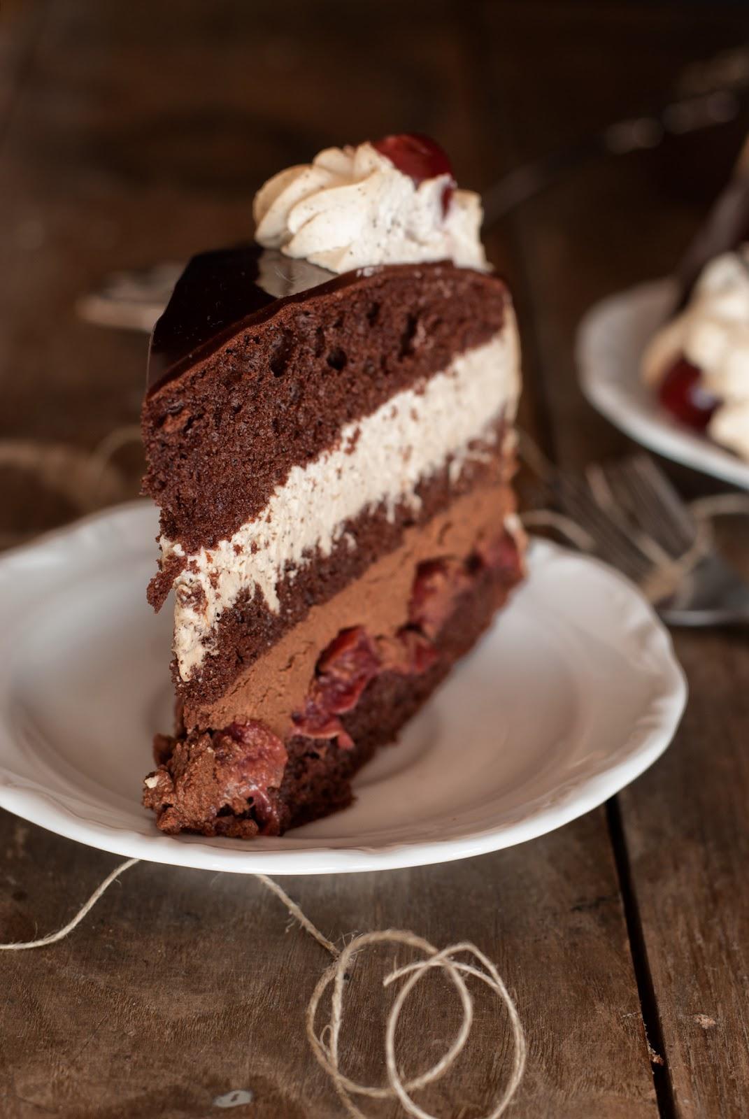 Bezglutenowy tort czekoladowo-kawowy