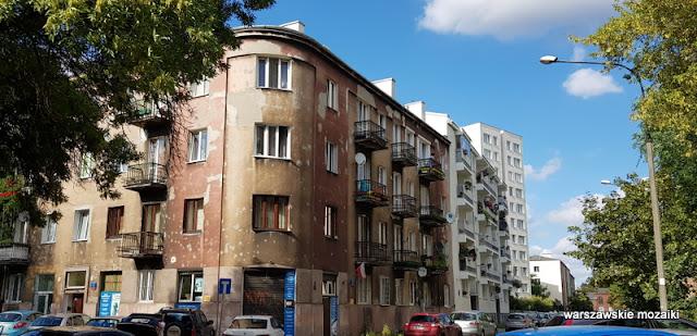 Warszawa Warsaw kamienice kamienica Praga Północ praskie klimaty architektura zabudowa ulica street