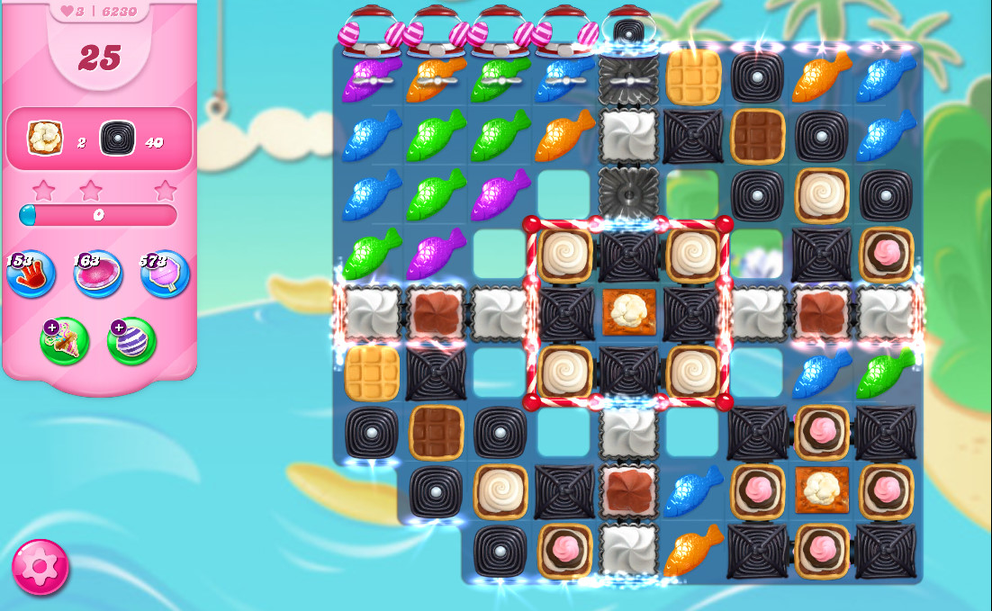 Candy Crush Saga level 6230