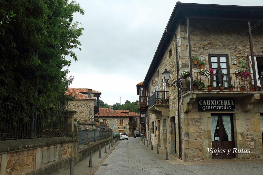 Calles y casas de Liérganes