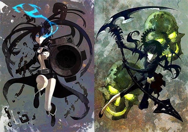 black rock shooter, anime, Viallen, All dreams are real,