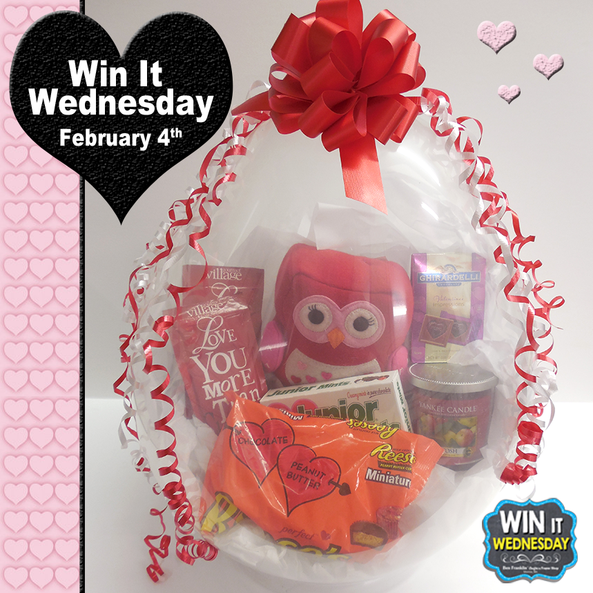 Win-It-Wednesday Facebook Giveaway