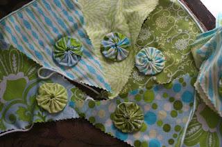 Garden veg and pennant string