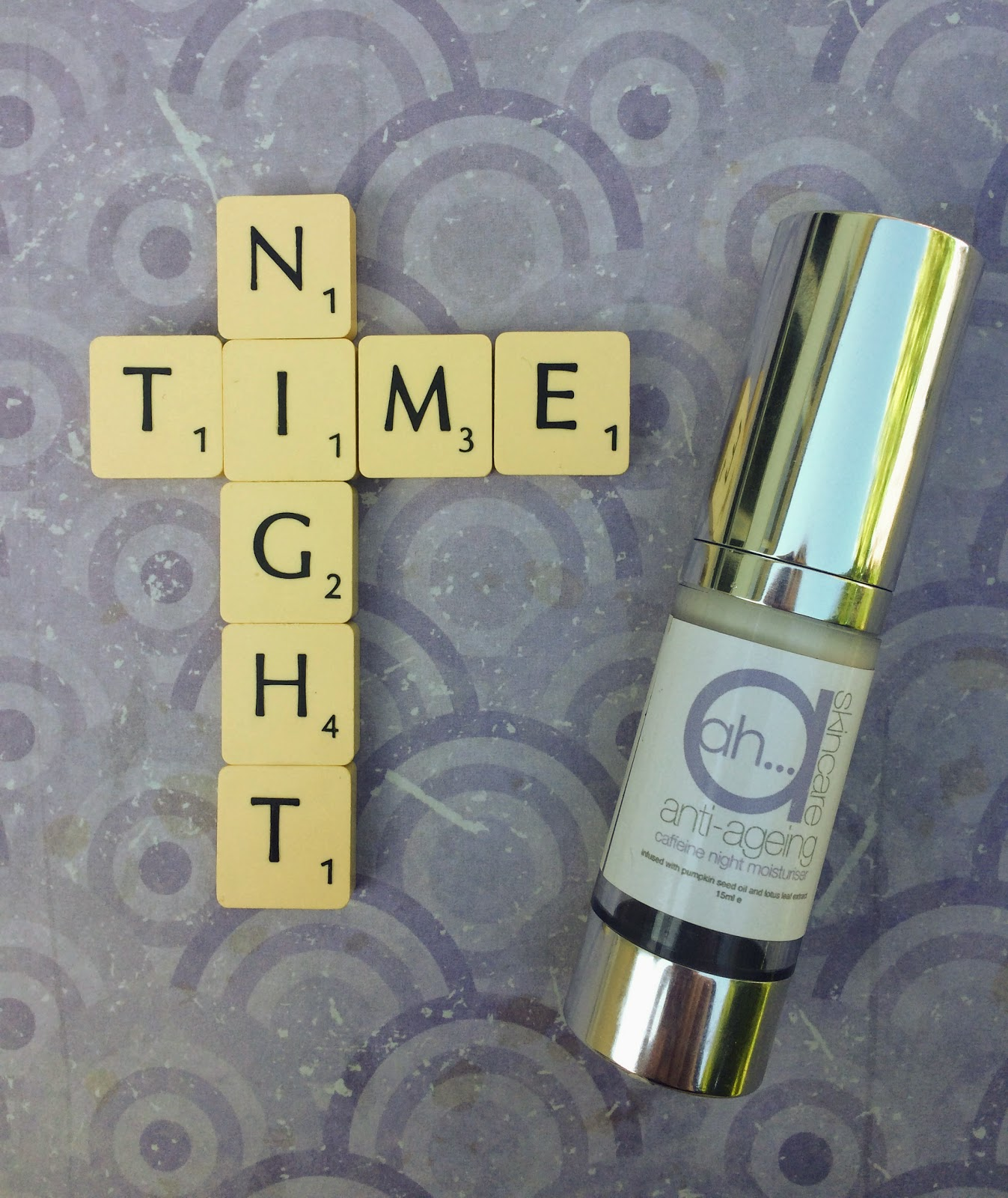 Ah Skincare Caffeine night cream