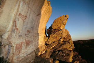 Rocas pintadas Tsodilo