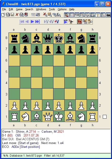 Annotated Chess Games Pgn