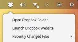 Dropbox elementary OS