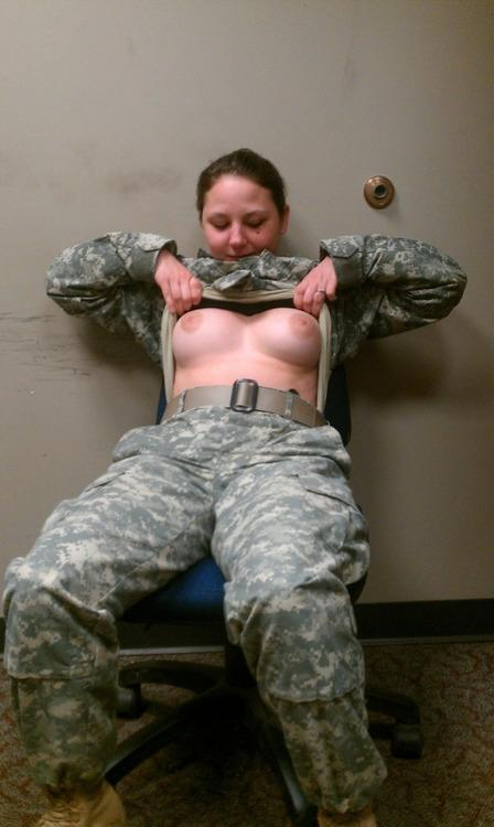 Nude military women having sex