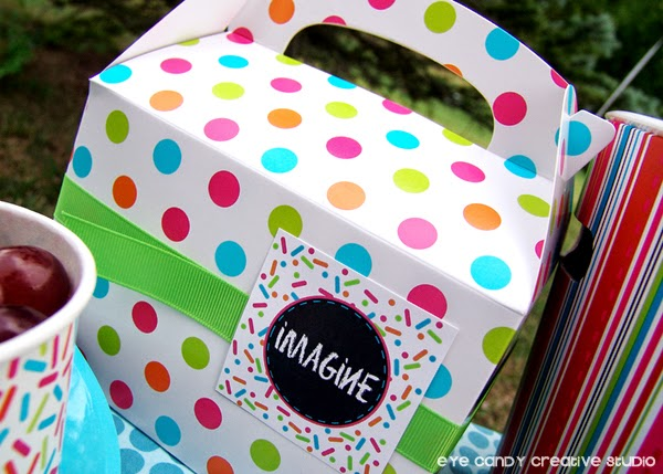gable lunch boxes, Target, art party food, picnic food ideas, create