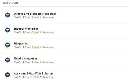 Senarai kerja kosong untuk blogger