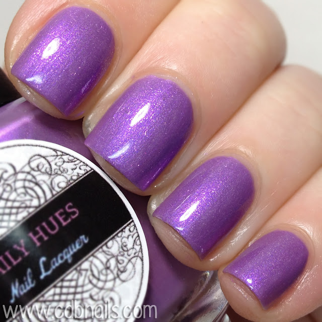 Daily Hues Nail Lacquer-Bellflower