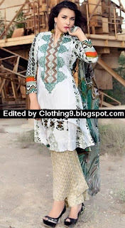 Ayesha Chottani embroidered dresses Eid 2015