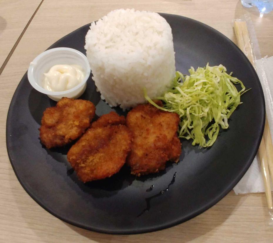 Katsu rice from Tomochan Ramen Express