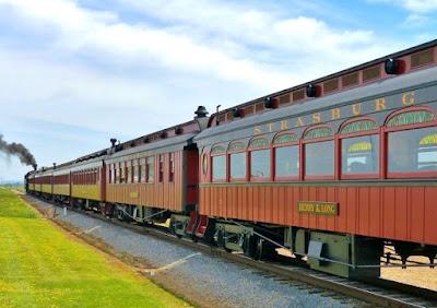 Strasburg Rail Road Railroad in Ronks, Lancaster County Pennsylvania