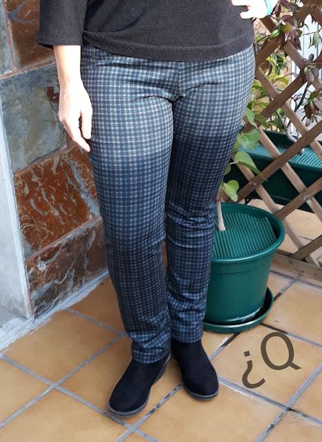 Pantalones elasticos costura ottobre woman 5/2013