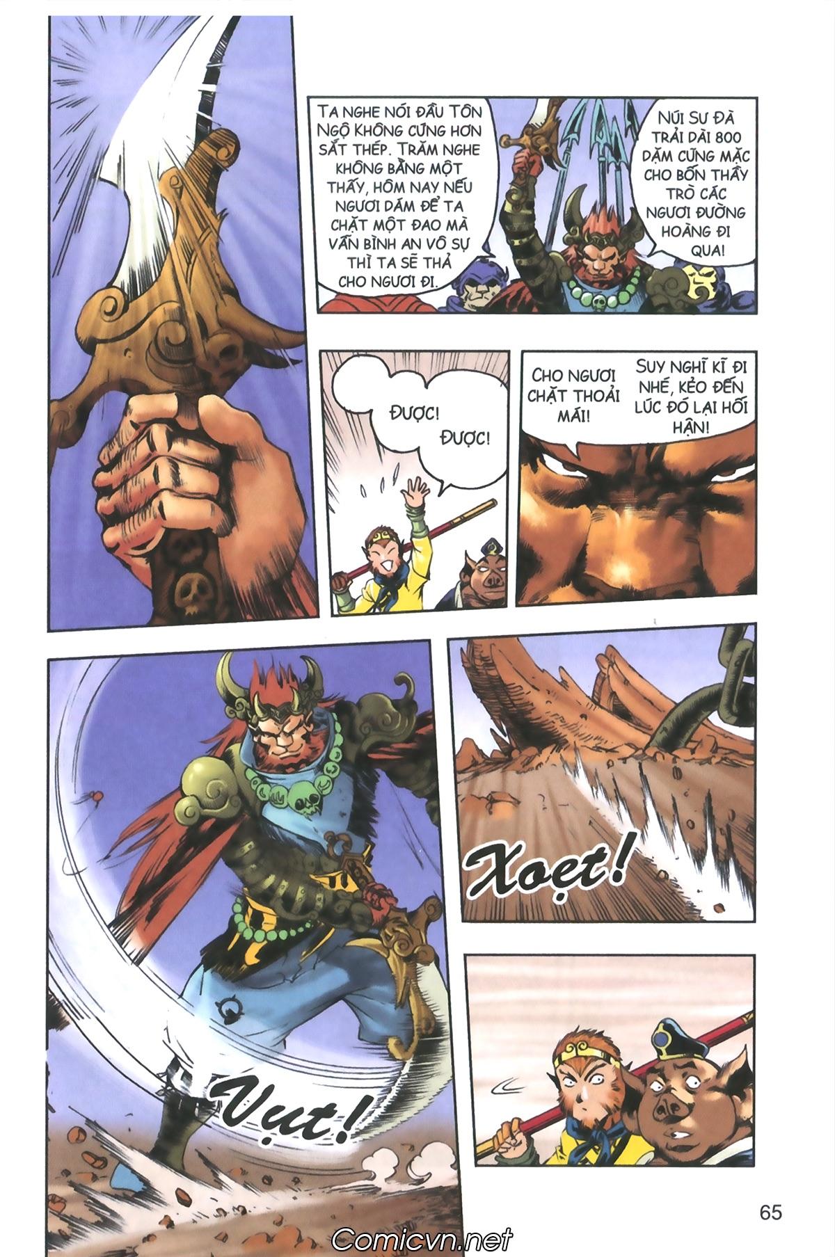 Tây Du Ký màu - Chapter 120 - Pic 25