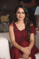 Pragya Jaiswal in Stunnign Deep neck Designer Maroon Dress at Nakshatram music launch ~ CelebesNext Celebrities Galleries 121.JPG