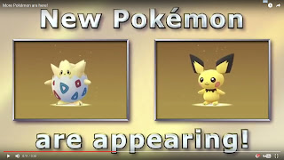 Pokemon Go Tambah Pokemon Baru Yaitu Baby Pokemon