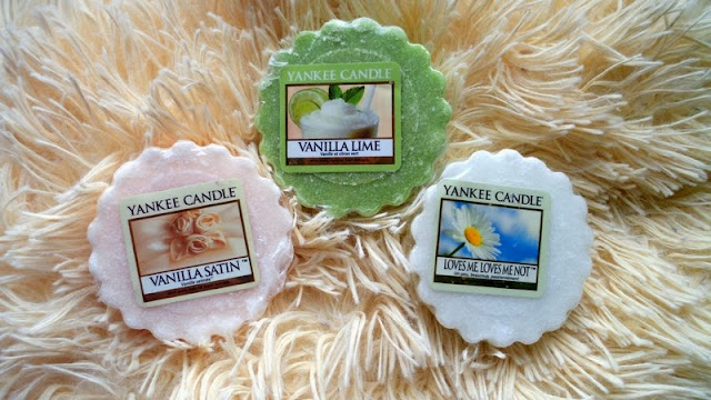 Yankee Candle: Vanilla Satin, Vanilla Lime, Loves Me, Loves Me Not