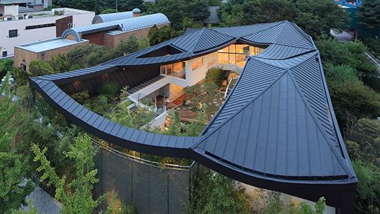 7 transformasi bentuk atap perisai
