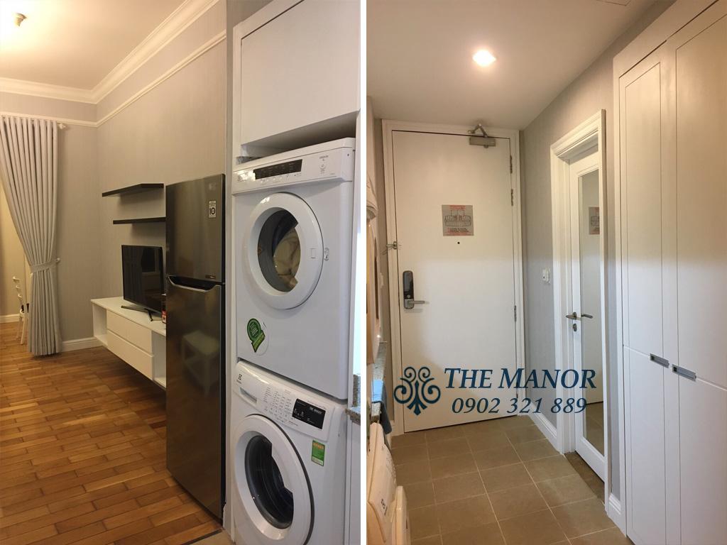 Cho thuê căn hộ Studio The Manor giá cực rẻ $500 bao luôn phí - hình 4