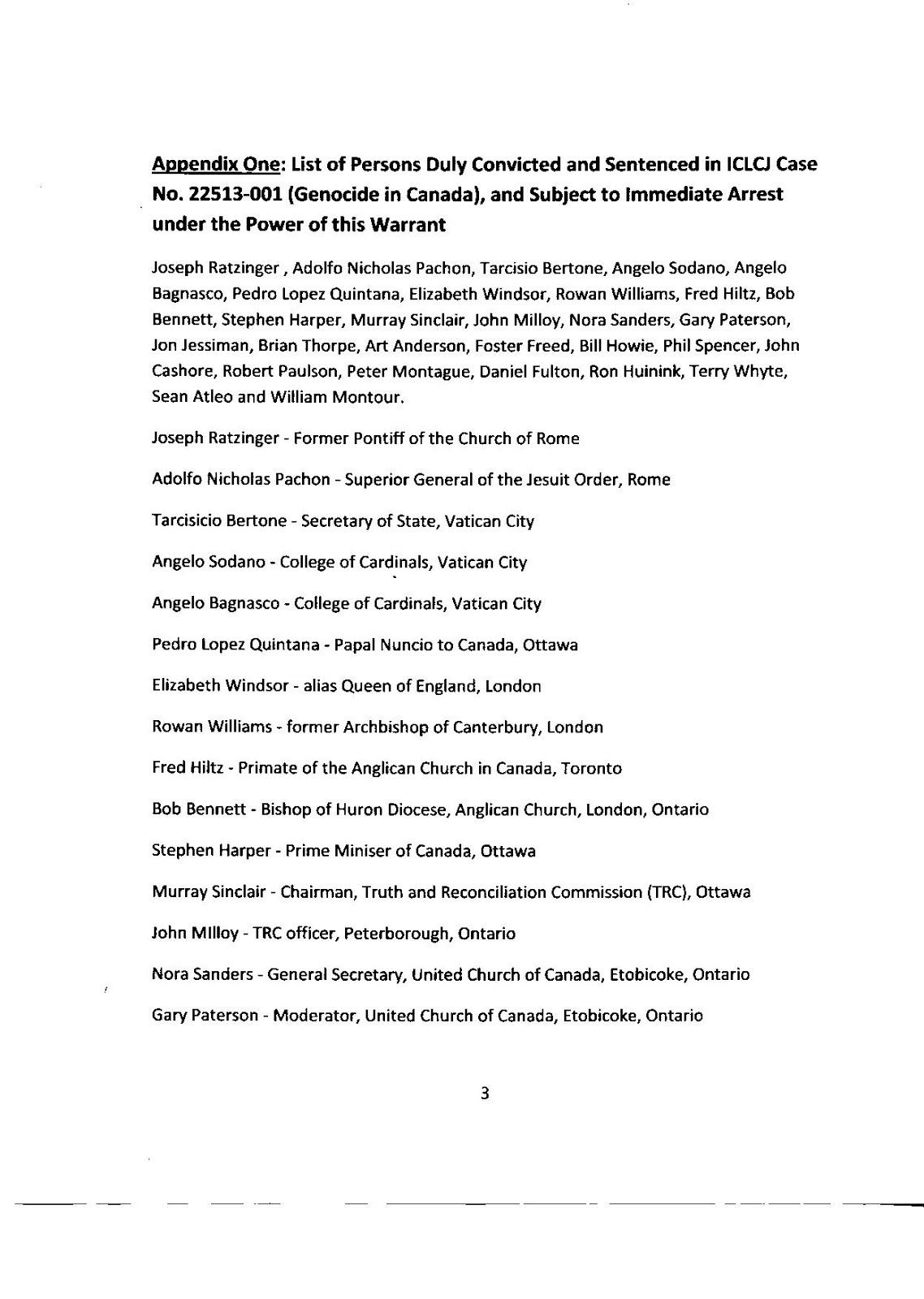 People's Trust Saskatoon: Breaking News: Citizen Arrest