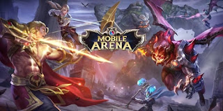 Cara top up mobile arena