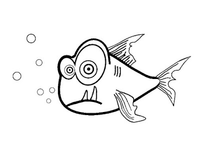 Coloring Pages Zoo Fish